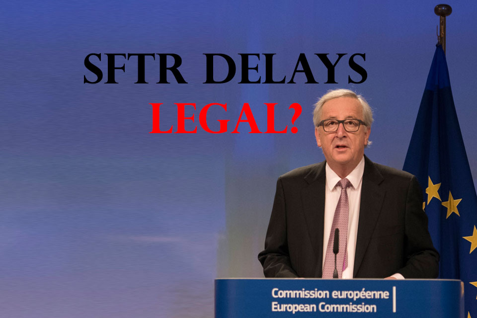 SFTR – Enforcement Action against the EU Commission